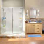 Kleara 2-Panel Pivot Shower Door