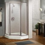 Silhouette Neo-angle Pivot Shower Door
